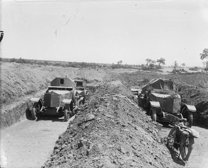 WW2 Rolls Royce Armoured Cars 1915 - Double Agent Celery