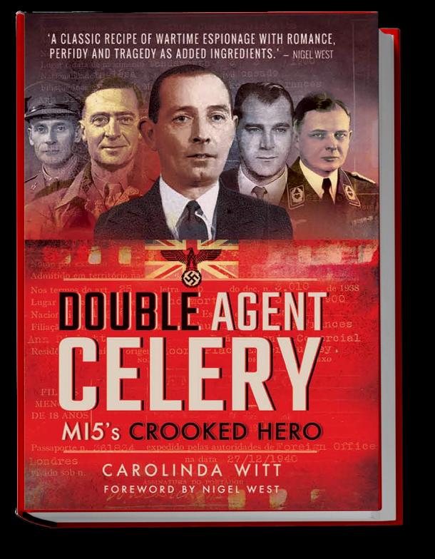 Double Agent Celery new book by Carolinda Witt