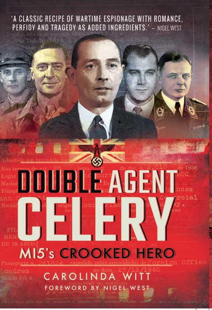 Carolinda Witt Double Agent Celery Book